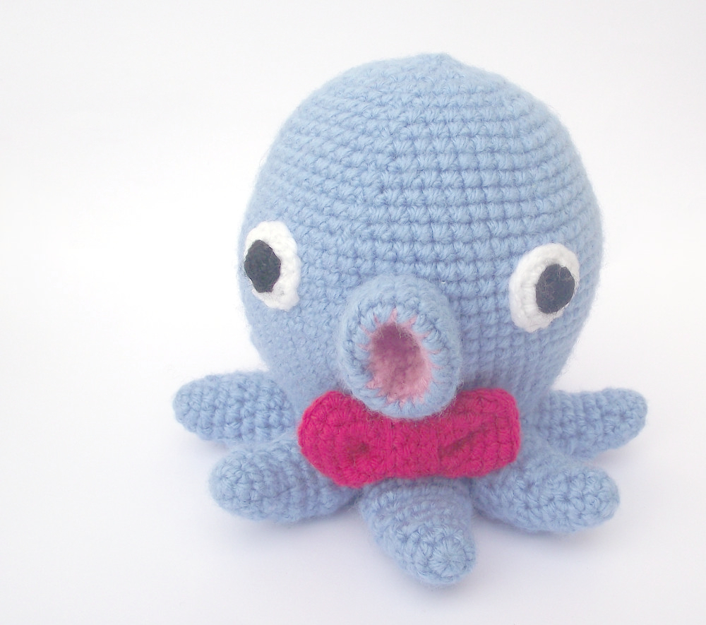 Amigurumi Patroon Octopus : Pierrette the amigurumi octopus - Petits Pixels