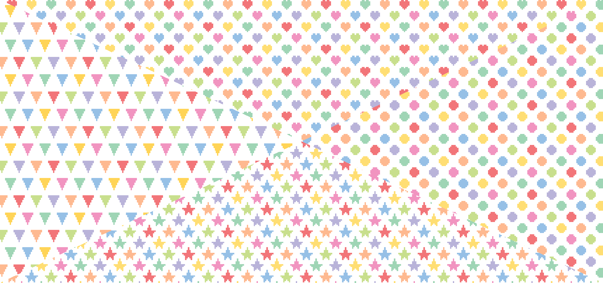 Collection motifs pixelisés