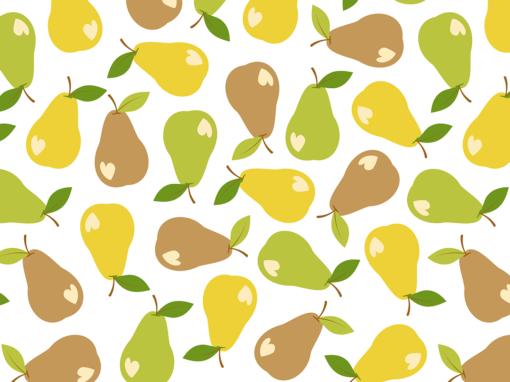 Bitten pears