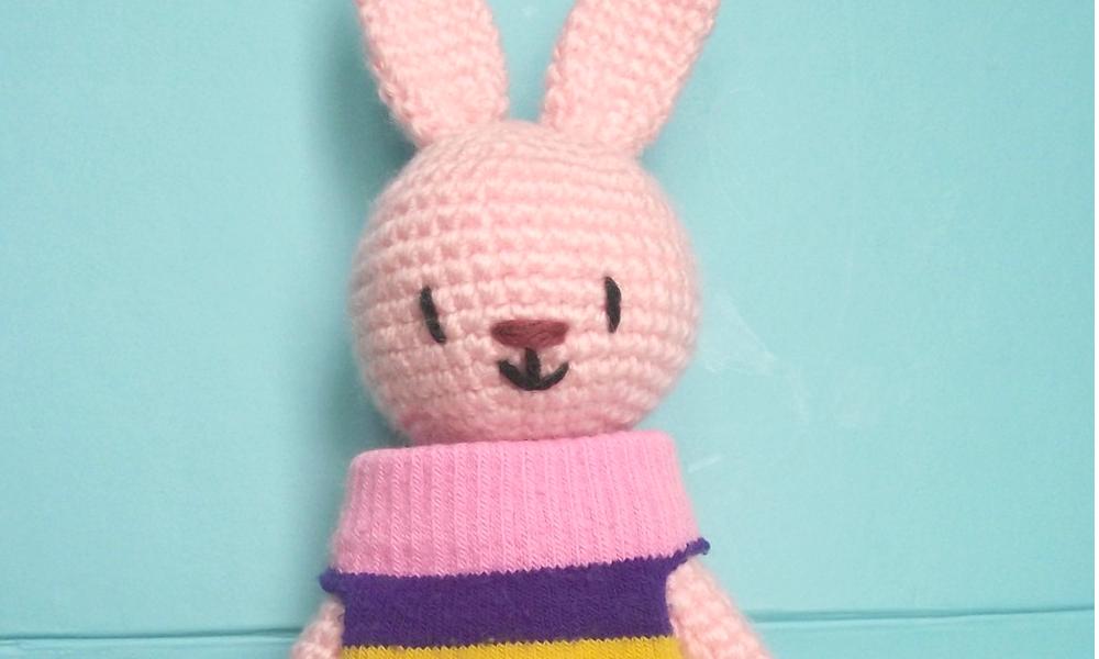 chaussette the bunny rabbit amigurumi 04