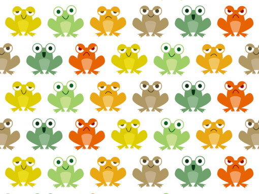 Cute little frogs
