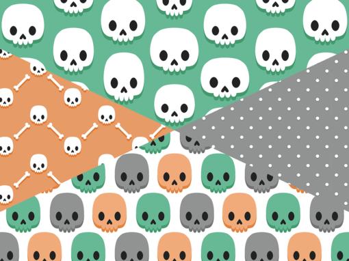 Petites têtes de mort