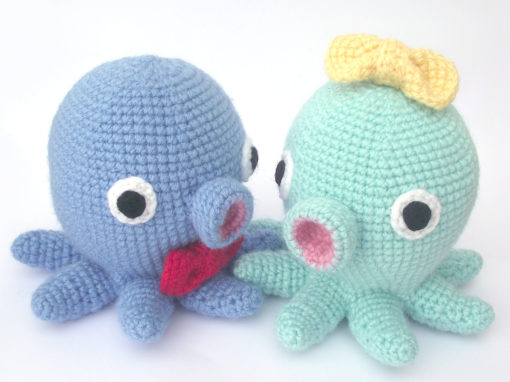 Pierrette the amigurumi octopus