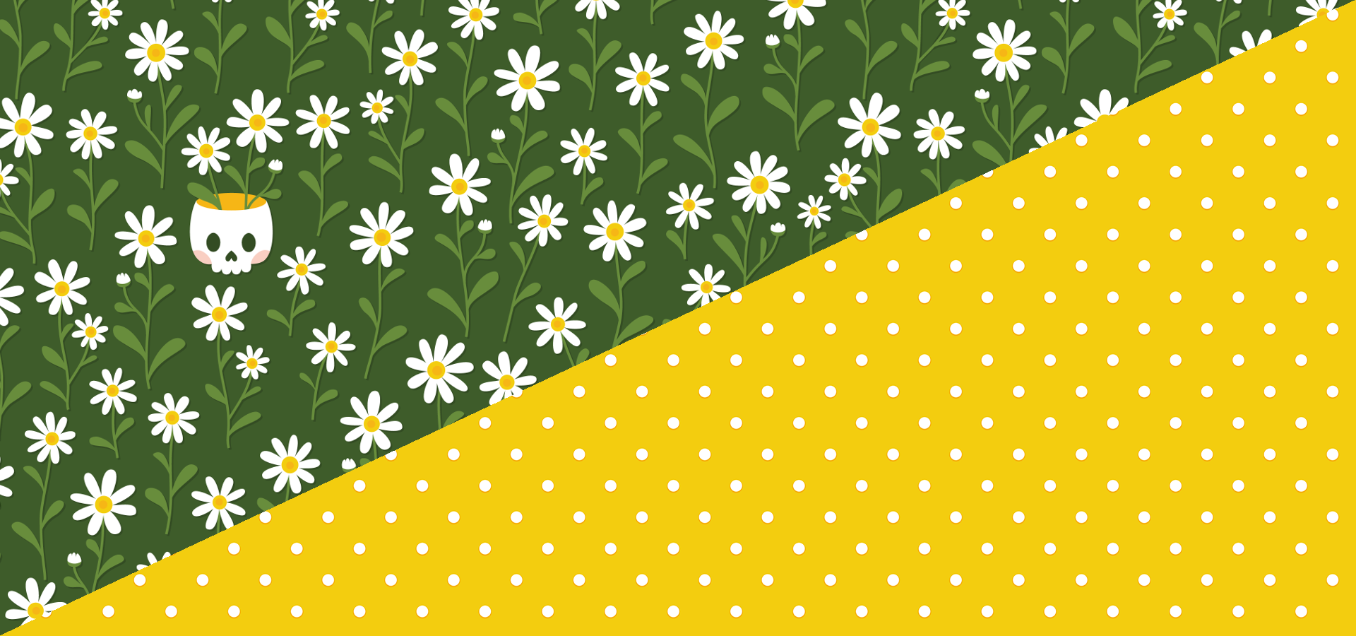 pushing daisies pattern collection