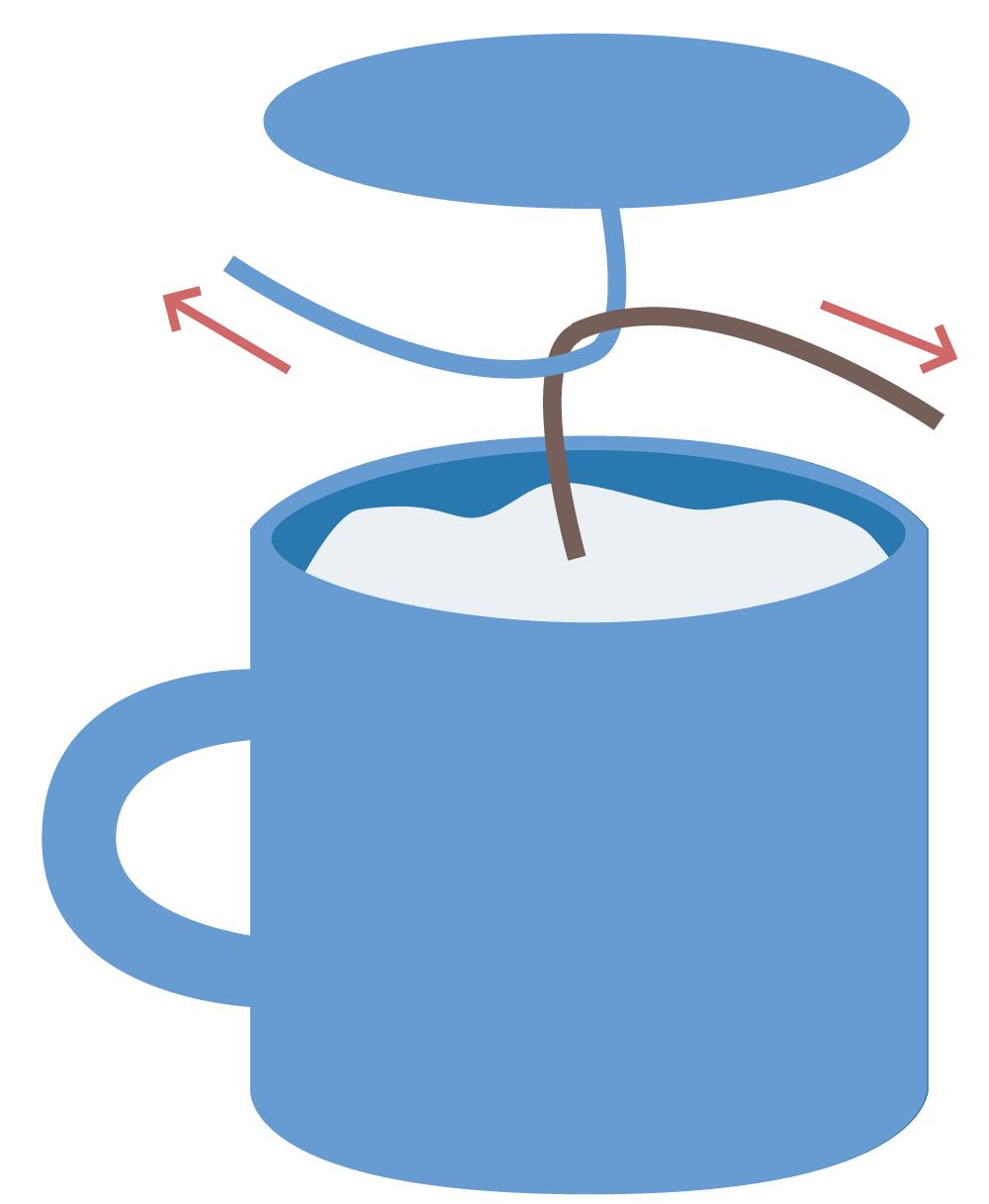 Tasse clipart  Mini tasse au crochet - Tutoriel gratuit - Petits Pixels