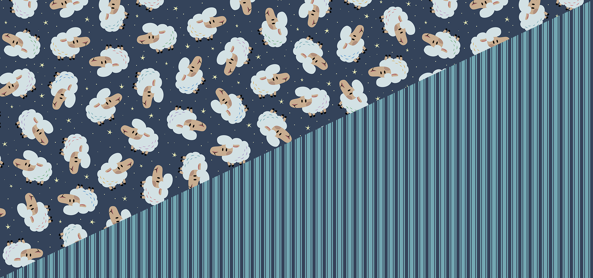 counting sheep pattern collection petits pixels