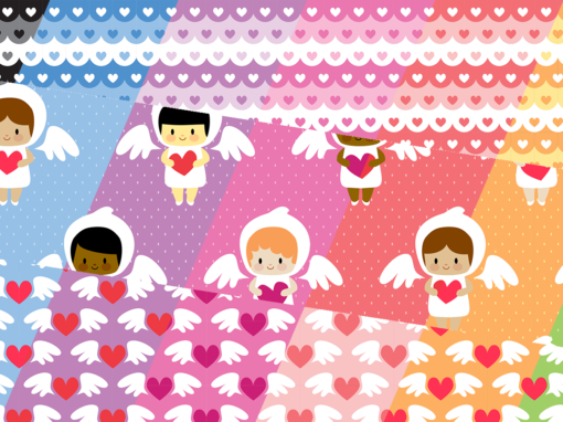 Kawaii angels